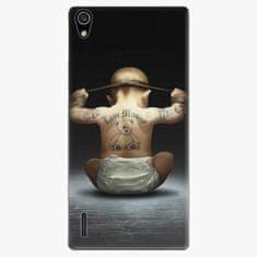 iSaprio Plastový kryt - Crazy Baby - Huawei Ascend P7