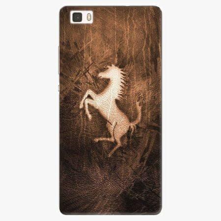 iSaprio Silikonové pouzdro - Vintage Horse - Huawei Ascend P8 Lite