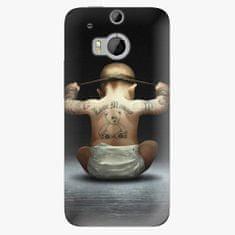 iSaprio Plastový kryt - Crazy Baby - HTC One M8