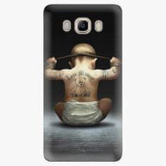 iSaprio Plastový kryt - Crazy Baby - Samsung Galaxy J7 2016
