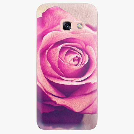 iSaprio Plastový kryt - Pink Rose - Samsung Galaxy A3 2017