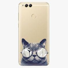 iSaprio Plastový kryt - Crazy Cat 01 - Huawei Honor 7X