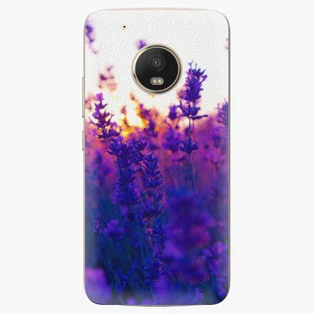 iSaprio Plastový kryt - Lavender Field - Lenovo Moto G5 Plus