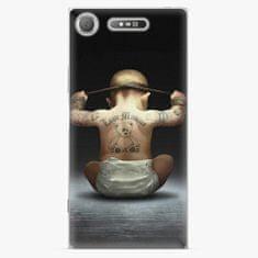 iSaprio Plastový kryt - Crazy Baby - Sony Xperia XZ1