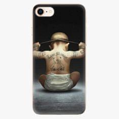 iSaprio Plastový kryt - Crazy Baby - iPhone 8