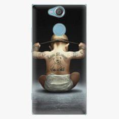iSaprio Plastový kryt - Crazy Baby - Sony Xperia XA2