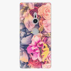 iSaprio Plastový kryt - Beauty Flowers - Sony Xperia XZ2