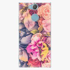 iSaprio Plastový kryt - Beauty Flowers - Sony Xperia XA2
