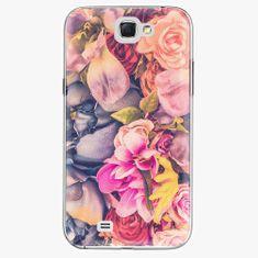 iSaprio Plastový kryt - Beauty Flowers - Samsung Galaxy Note 2