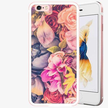 iSaprio Plastový kryt - Beauty Flowers - iPhone 6 Plus/6S Plus - Rose Gold