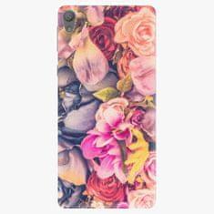 iSaprio Plastový kryt - Beauty Flowers - Sony Xperia E5