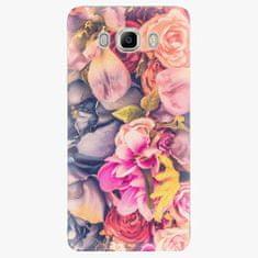 iSaprio Plastový kryt - Beauty Flowers - Samsung Galaxy J7 2016