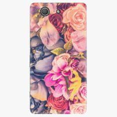 iSaprio Plastový kryt - Beauty Flowers - Sony Xperia Z3 Compact