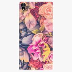 iSaprio Plastový kryt - Beauty Flowers - Huawei Ascend P7