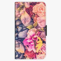 iSaprio Flipové pouzdro - Beauty Flowers - iPhone X