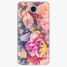iSaprio Plastový kryt - Beauty Flowers - Huawei Y5 2017 / Y6 2017