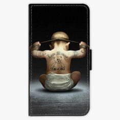 iSaprio Flipové pouzdro - Crazy Baby - Samsung Galaxy A3