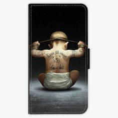 iSaprio Flipové pouzdro - Crazy Baby - Huawei P10 Plus