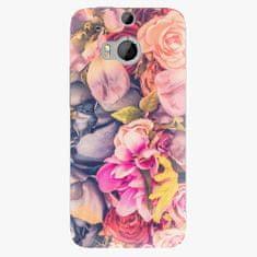 iSaprio Plastový kryt - Beauty Flowers - HTC One M8