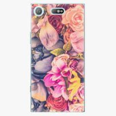 iSaprio Plastový kryt - Beauty Flowers - Sony Xperia XZ1 Compact
