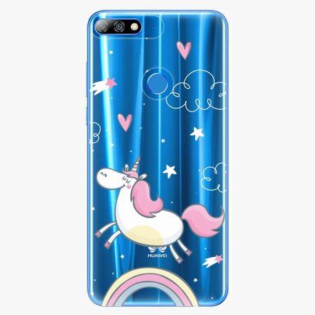 iSaprio Plastový kryt - Unicorn 01 - Huawei Y7 Prime 2018