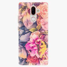 iSaprio Plastový kryt - Beauty Flowers - Nokia 7 Plus