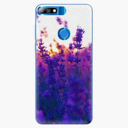 iSaprio Plastový kryt - Lavender Field - Huawei Y7 Prime 2018