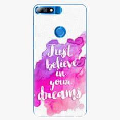 iSaprio Plastový kryt - Believe - Huawei Y7 Prime 2018