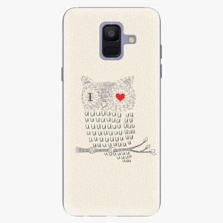 iSaprio Silikonové pouzdro - I Love You 01 - Samsung Galaxy A6