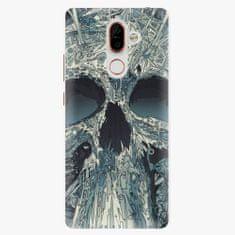 iSaprio Plastový kryt - Abstract Skull - Nokia 7 Plus