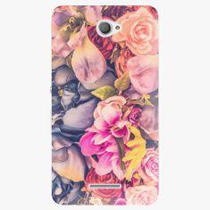 iSaprio Plastový kryt - Beauty Flowers - Sony Xperia E4