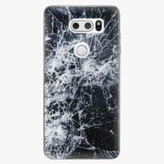 iSaprio Plastový kryt - Cracked - LG V30
