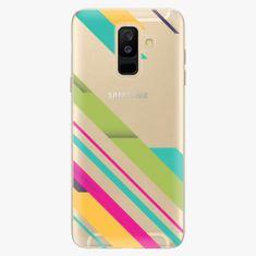 iSaprio Plastový kryt - Color Stripes 03 - Samsung Galaxy A6 Plus