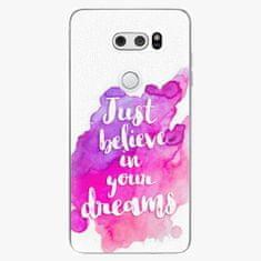 iSaprio Plastový kryt - Believe - LG V30