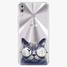 iSaprio Plastový kryt - Crazy Cat 01 - Asus ZenFone 5 ZE620KL
