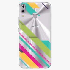 iSaprio Plastový kryt - Color Stripes 03 - Asus ZenFone 5 ZE620KL