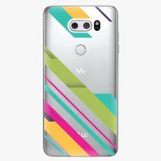 iSaprio Plastový kryt - Color Stripes 03 - LG V30