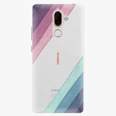 iSaprio Plastový kryt - Glitter Stripes 01 - Nokia 7 Plus