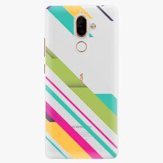iSaprio Plastový kryt - Color Stripes 03 - Nokia 7 Plus