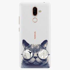 iSaprio Plastový kryt - Crazy Cat 01 - Nokia 7 Plus