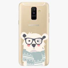 iSaprio Plastový kryt - Bear with Scarf - Samsung Galaxy A6 Plus
