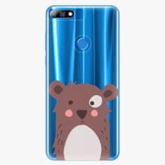 iSaprio Plastový kryt - Brown Bear - Huawei Y7 Prime 2018