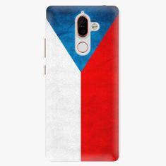iSaprio Plastový kryt - Czech Flag - Nokia 7 Plus
