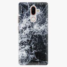 iSaprio Plastový kryt - Cracked - Nokia 7 Plus