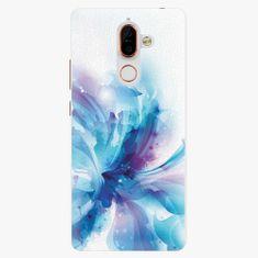 iSaprio Plastový kryt - Abstract Flower - Nokia 7 Plus