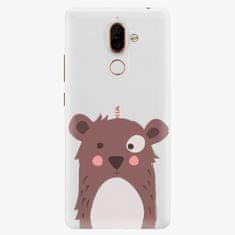 iSaprio Plastový kryt - Brown Bear - Nokia 7 Plus