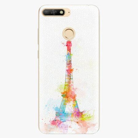 iSaprio Silikonové pouzdro - Eiffel Tower - Huawei Y6 Prime 2018