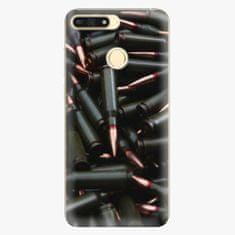 iSaprio Plastový kryt - Black Bullet - Huawei Honor 7A