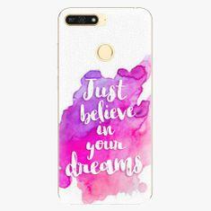 iSaprio Plastový kryt - Believe - Huawei Honor 7A