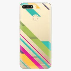 iSaprio Plastový kryt - Color Stripes 03 - Huawei Honor 7A
